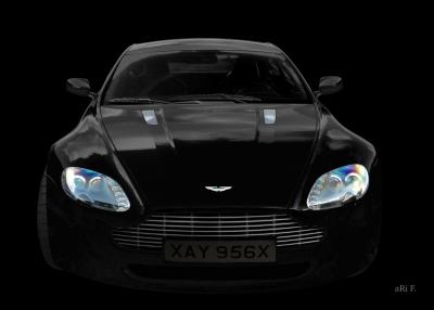 Aston Martin Vantage beim 24-Stunden-Rennen von Le Mans