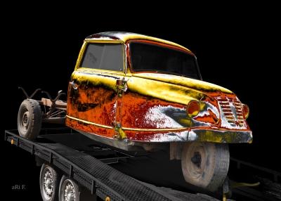 Goliath Goli Hochlader Borgward Lastkraftwagen