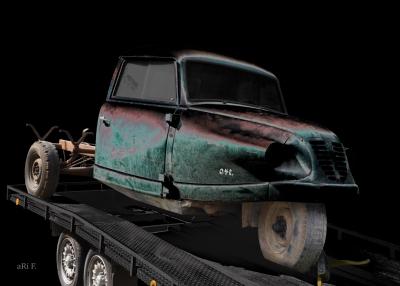 Goliath Goli Hochlader von Borgward 3-Rad Lastkraftwagen