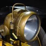 Marchand 12 HP, Scheinwerfer waren noch in massivem Messinggehäuse untergebracht.