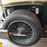 OM 665 N 5, ohne 2 Ersatzreifen ging es auf den schlechten Straßen von damals wohl nicht