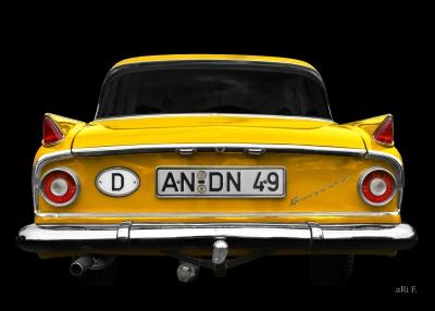 Borgward Airswing 6-Zylinder Poster