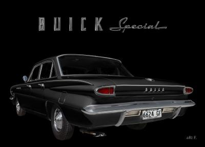 Buick Special DeLuxe 4-Door Sedan is Car of the year 1962 Poster