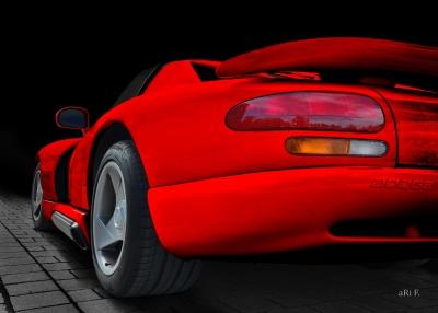 Dodge Viper Le Mans GT2 Poster