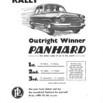 Panhard PL 17 Rally Monte Carlo