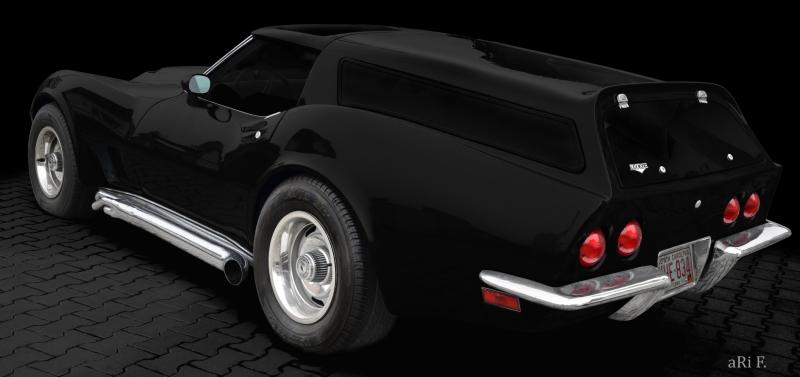 Eckler Corvette C3 Estate, Baujahr 1973