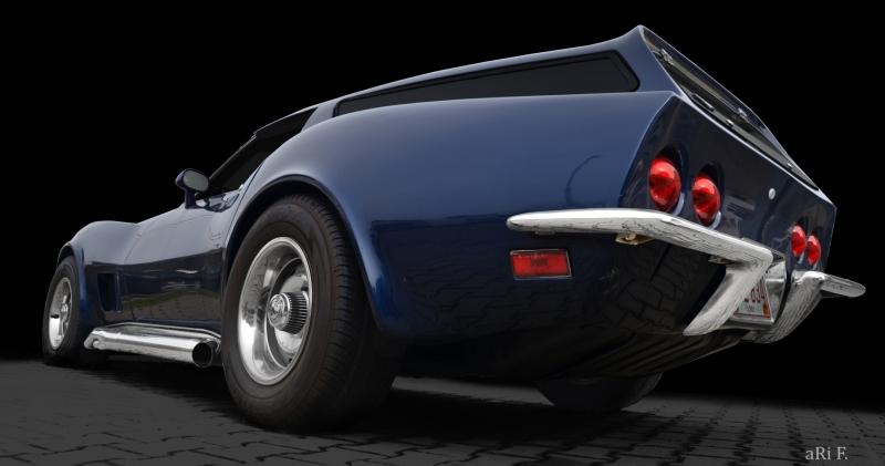 Eckler Corvette C3 technische Daten Poster
