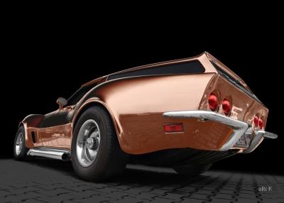 Eckler Corvette C3 Poster for sale