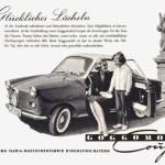 Goggomobil Coupé Werbung 1957