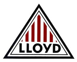 Logo Lloyd Rekordrennwagen Weisse Maus von 1954