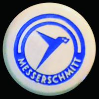 Logo Messerschmitt auf Kabinenroller auf KR 200 Super