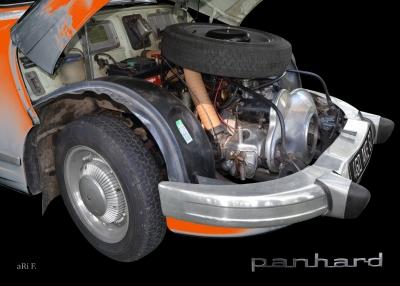 Panhard PL 17 mit 2-Zylinder Viertakt Boxermotor
