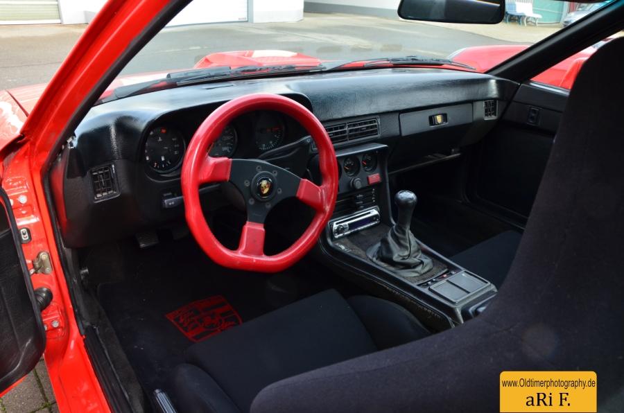 Porsche 924 Carrera GT, Interieur