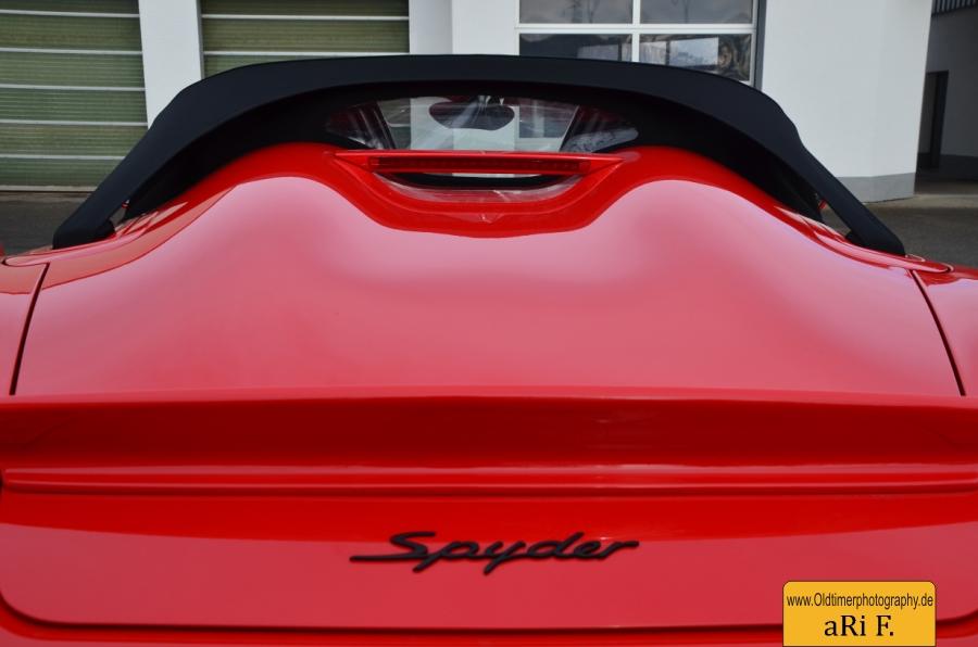 Porsche Boxster Spyder (Typ 987)