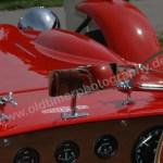Ronart Jaguar W152 freistehender Rückspiegel und Frontgläser