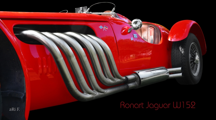 Ronart Jaguar W152 Poster for sale
