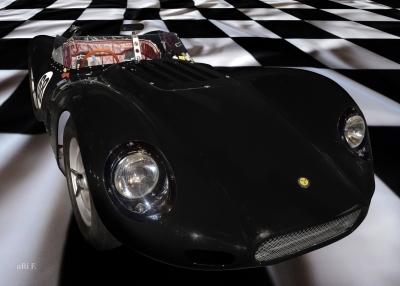 Lister Jaguar BHL 16 Knobbly Poster
