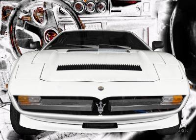 Maserati Merak SS technische Daten