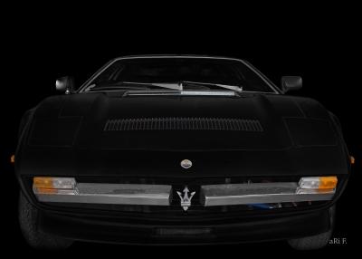 Maserati Merak SS Poster