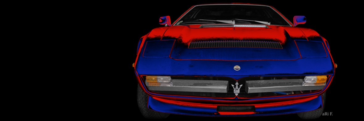 Maserati Merak Poster