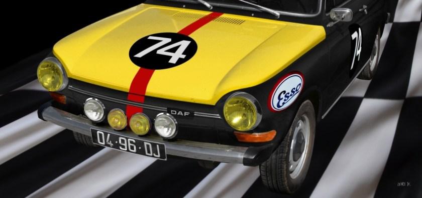 DAF 44 Rallye Poster