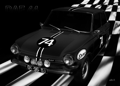 DAF 44 Rally Poster kaufen