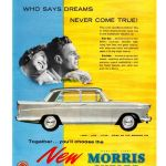 Morris Oxford Series V Advertising