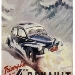 Renault 4 CV Rallye Monte Carlo