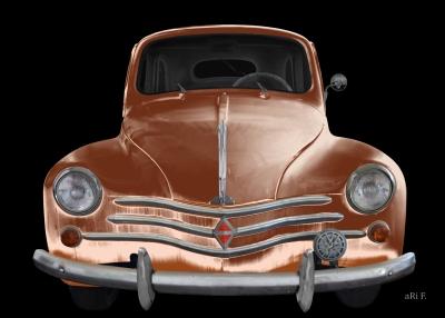 Renault 4CV gebaut 1946-1961