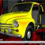Renault 4CV Cremeschnittchen