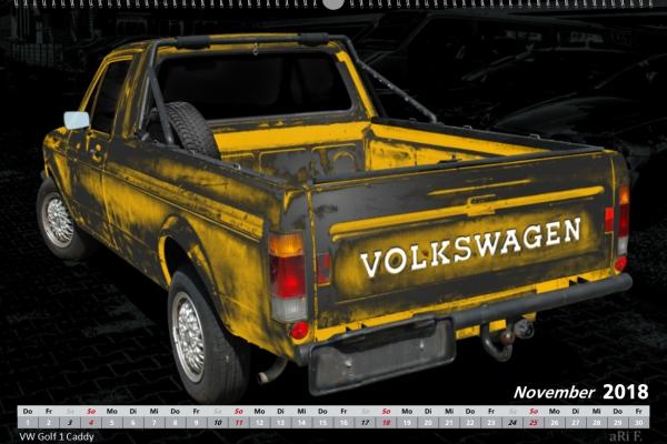 VW Golf 1 Caddy
