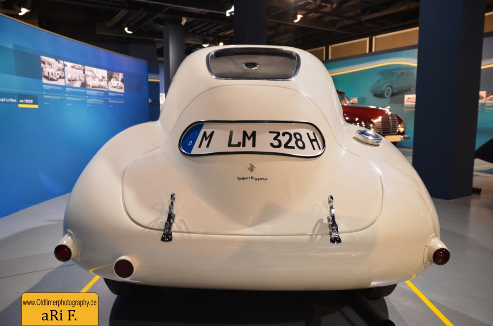 BMW 328 Touring Coupé Le Mans - Heckansicht