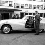 BMW 328 Mille Miglia Kamm Rennlimousine mit Entwicklungsteam