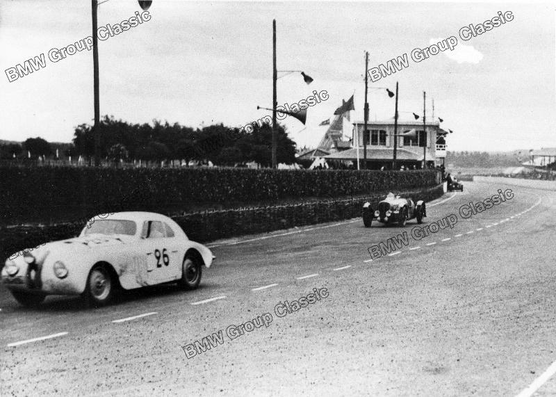 BMW 328 Touring Coupé während der 24 Stunden von Le Mans 1939