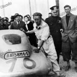 Das BMW 328 Touring Coupé beim I. Gran Premio Brescia delle Mille Miglia (28.04.1940)