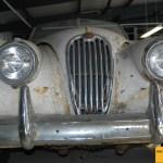 Jaguar XK 140 Frontansicht