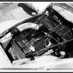 Motorraum der BMW 328 Mille Miglia Kamm Rennlimousine