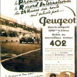 Peugeot 402 Dal'mart Le Mans 1938, Quelle: www.classiccarcatalogue.com