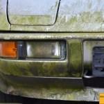 Porsche 924 in moosgrün