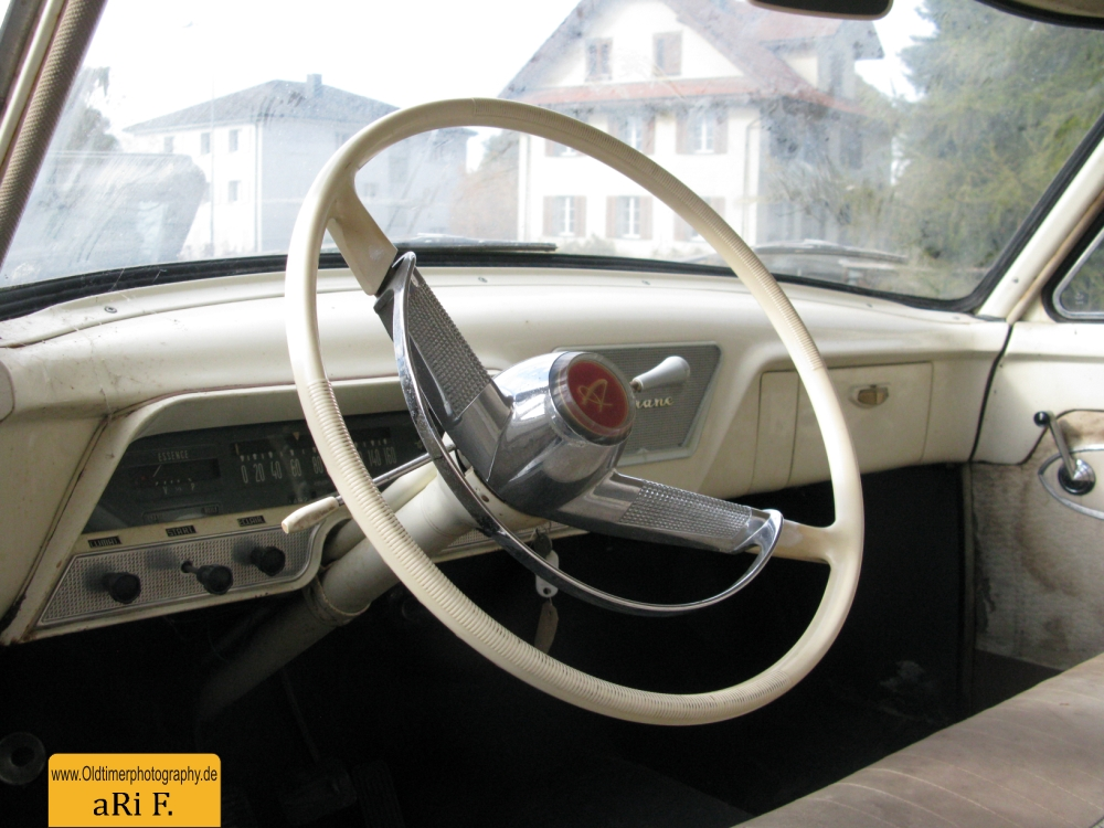 Simca Ariane Interieur 1957–1963