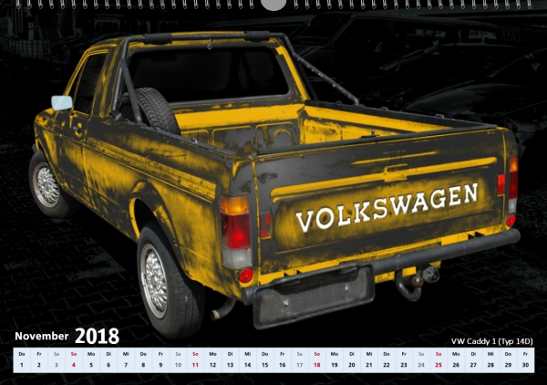 VW Caddy 1 (Typ 14D)