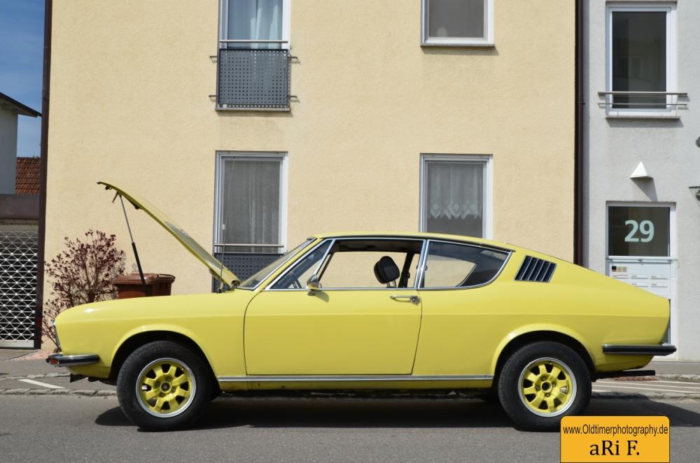 audi 100 coup s 1970 1976 oldtimerphotography in minimal. Black Bedroom Furniture Sets. Home Design Ideas