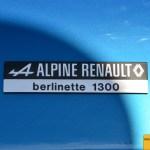 Renault Alpine A110 Berlinette 1300