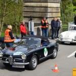 Alfa Romoe Guiletta Spider - Porsche 356 Speedster Baujahr 1956 Team Sporthotel Grandau