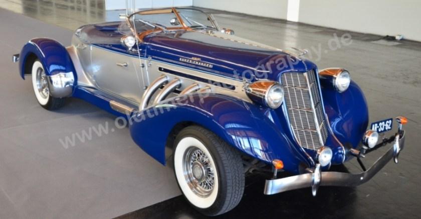 Auburn 852 Supercharged Speedster von 1936 auf der Klassikwelt Bodensee 2017