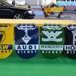 DKW Audi Wanderer Horsche Emaille-Schilder