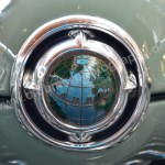 Ford G13 Taunus 12M Weltkugel Kühlergrill 1952-1962
