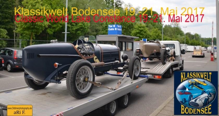 Klassikwelt Bodensee 2017 Plakat Oldtimermesse Langenargen Oldtimerfotografie aRi F.