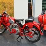 Klassikwelt Bodensee Motorräder von Moto Guzzi und Vespa