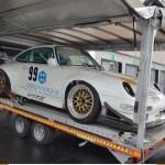 Porsche 911 Carerra noch auf dem Autohänger